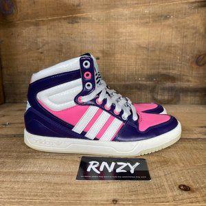 Adidas Court Attitude White Purple Pink Sneaker
